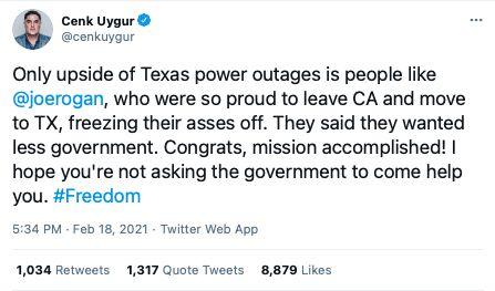 Cenk Uyghur Texas