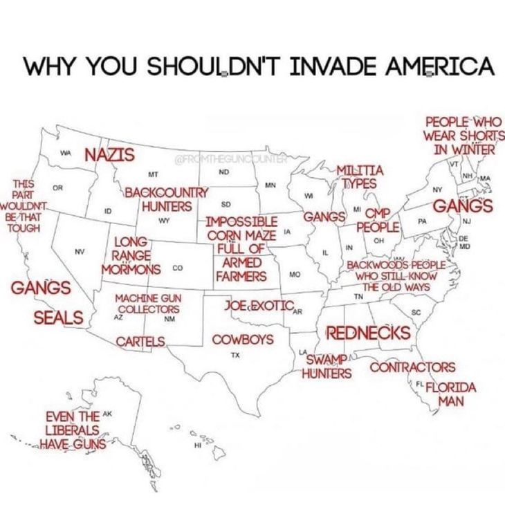 Why You Shouldn't Invade America