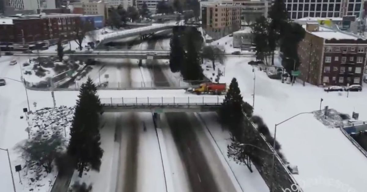 Portland's So 'Woke' That Even the Snow Plows Bow to 'Equity'