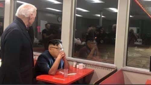 North Korea Ignores Biden
