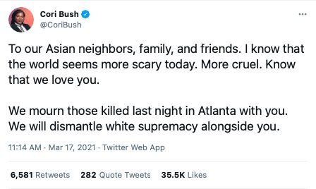 white supremacy Atlanta shootings