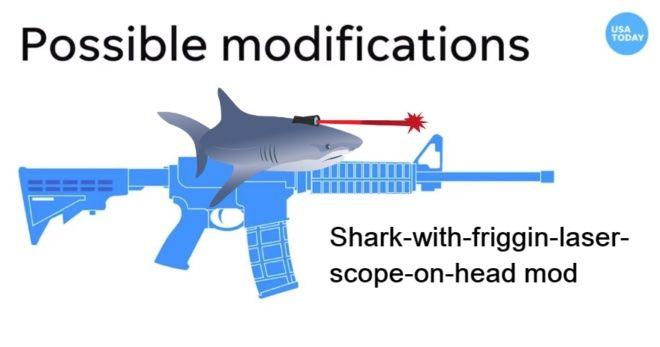 Shark with Friggin Laser Scope