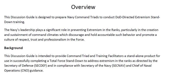 Pentagon military training materials.