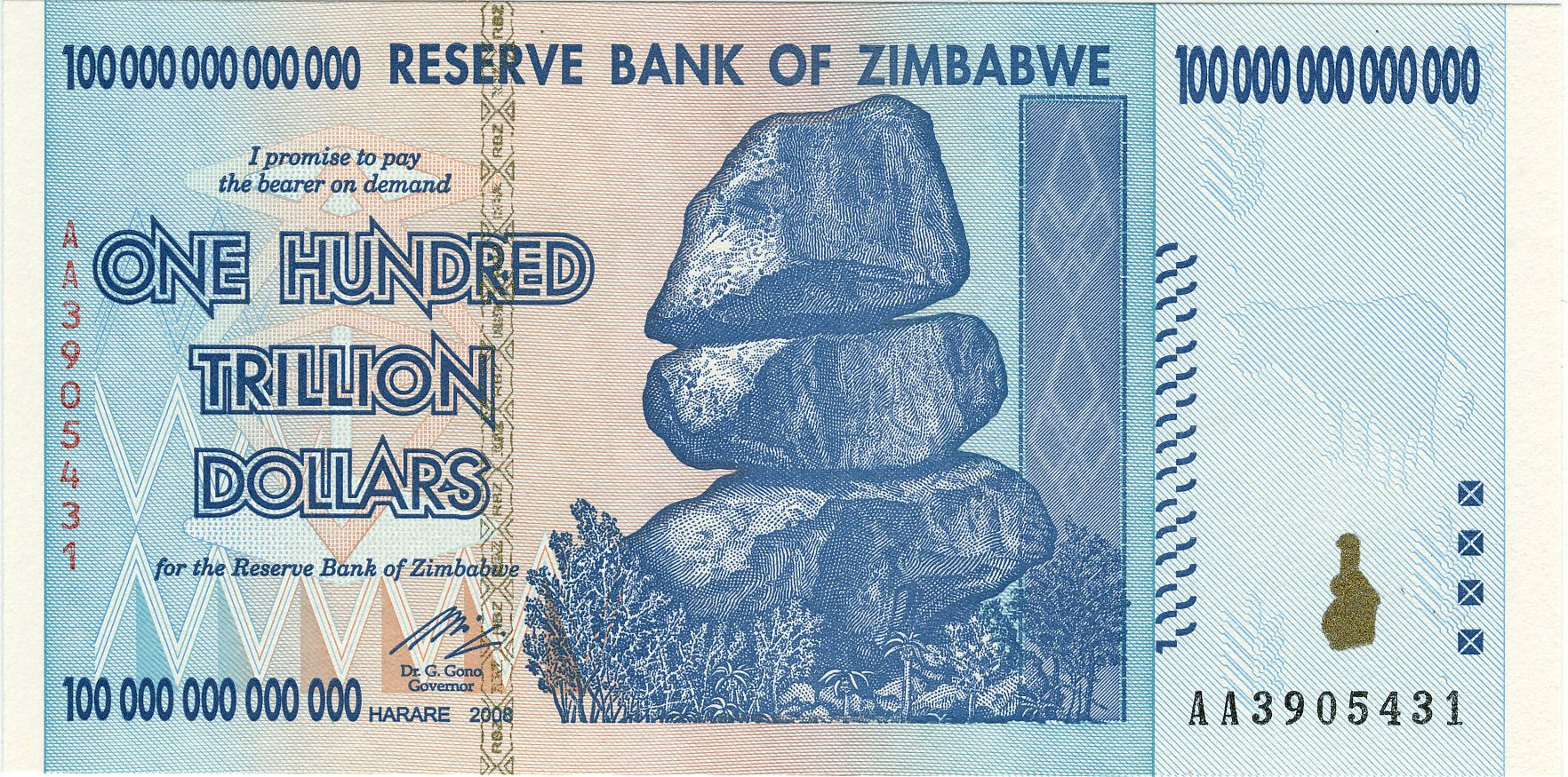 Zimbabwe Trillion