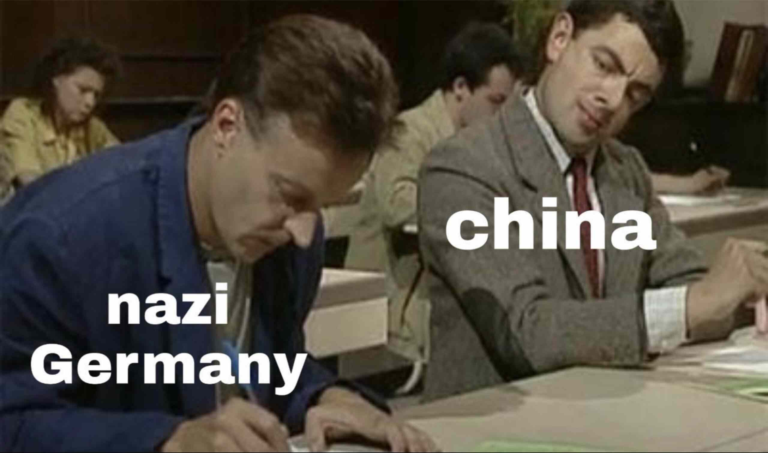 Communist China Nazi Germany