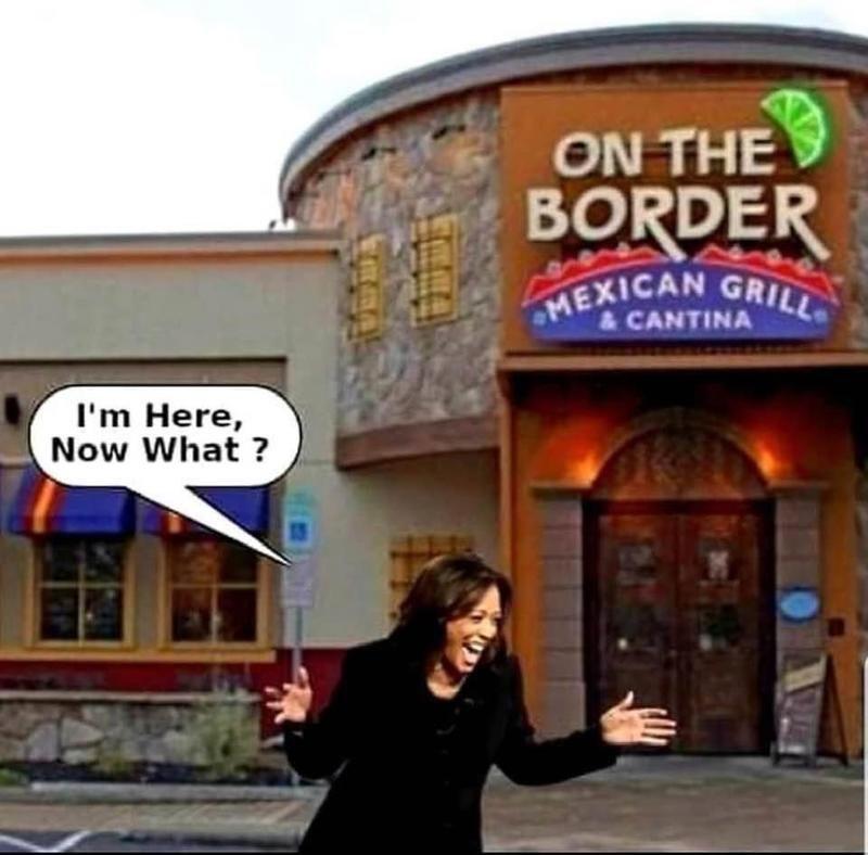 Kamala Harris on the Border