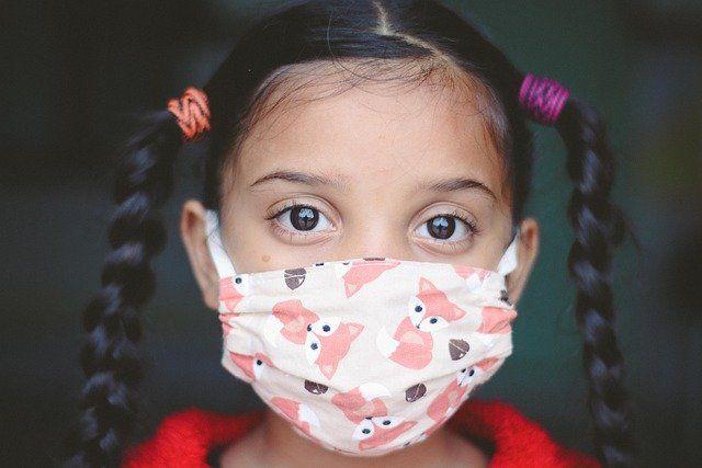 Masks unhealthy for children