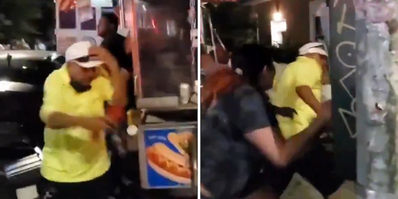 Man Beaten at Pride Parade