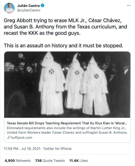 Ku Klux Klan Texas Julian Castro Republicans