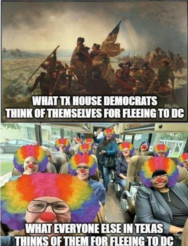 Texas Dems Flee